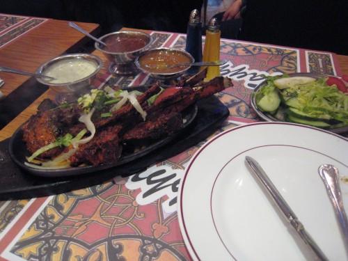 Lamp Chops & Sheekh Kebab