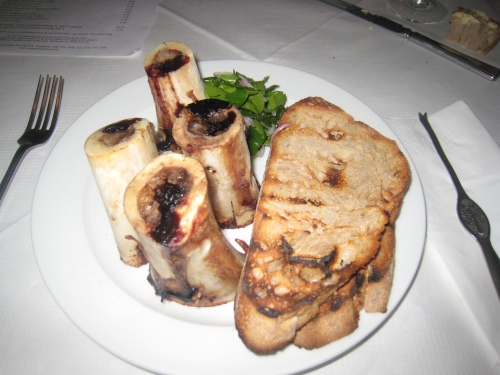 St. John - Roast Bone Marrow & Parsley Salad