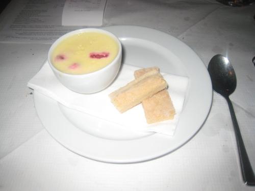 St. John - Raspberry & Lemon Posset