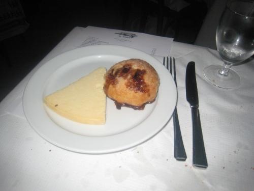 St. John - Eccles Cake & Lancashire Cheese