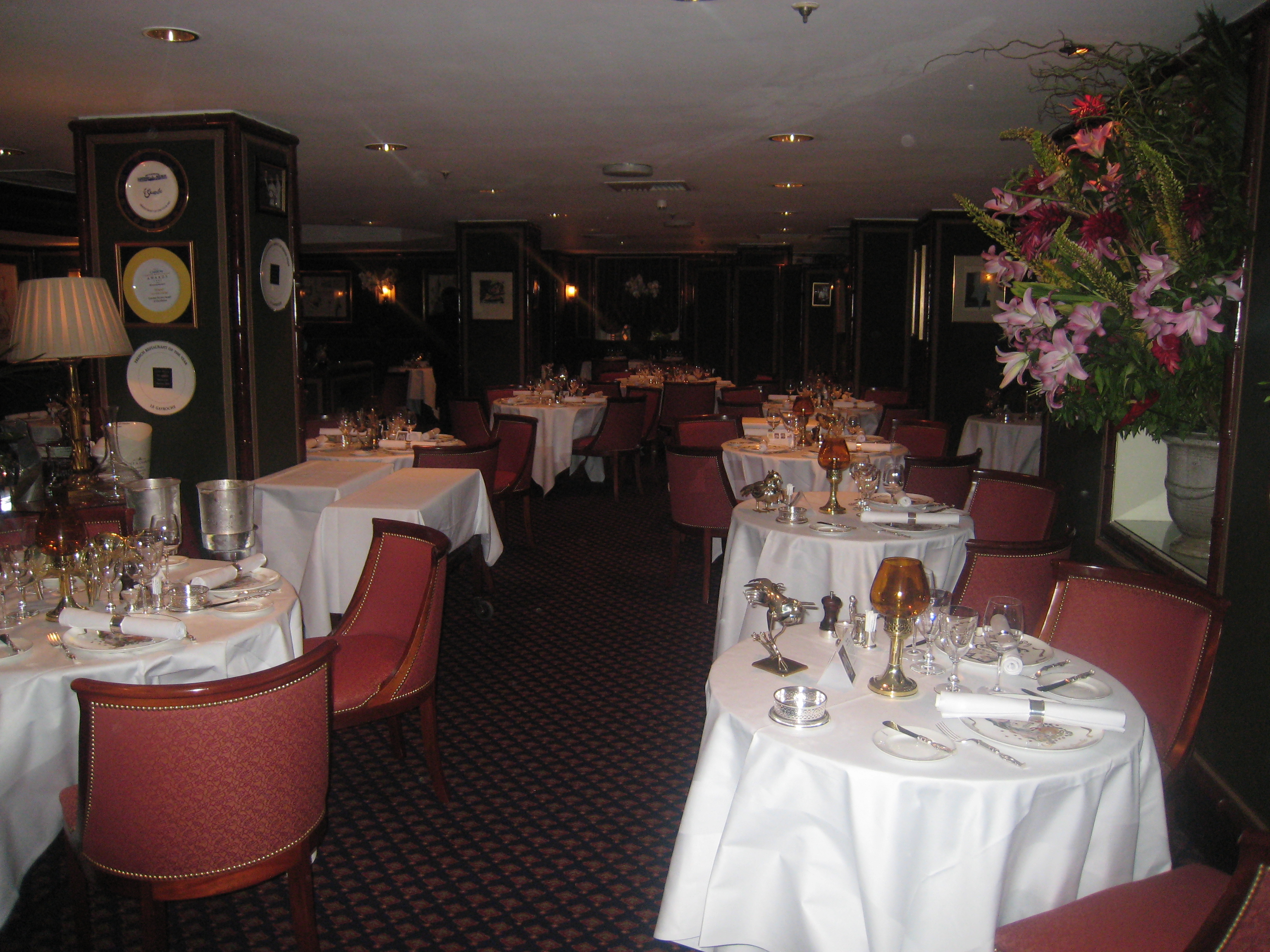 Le Gavroche London Food Snob