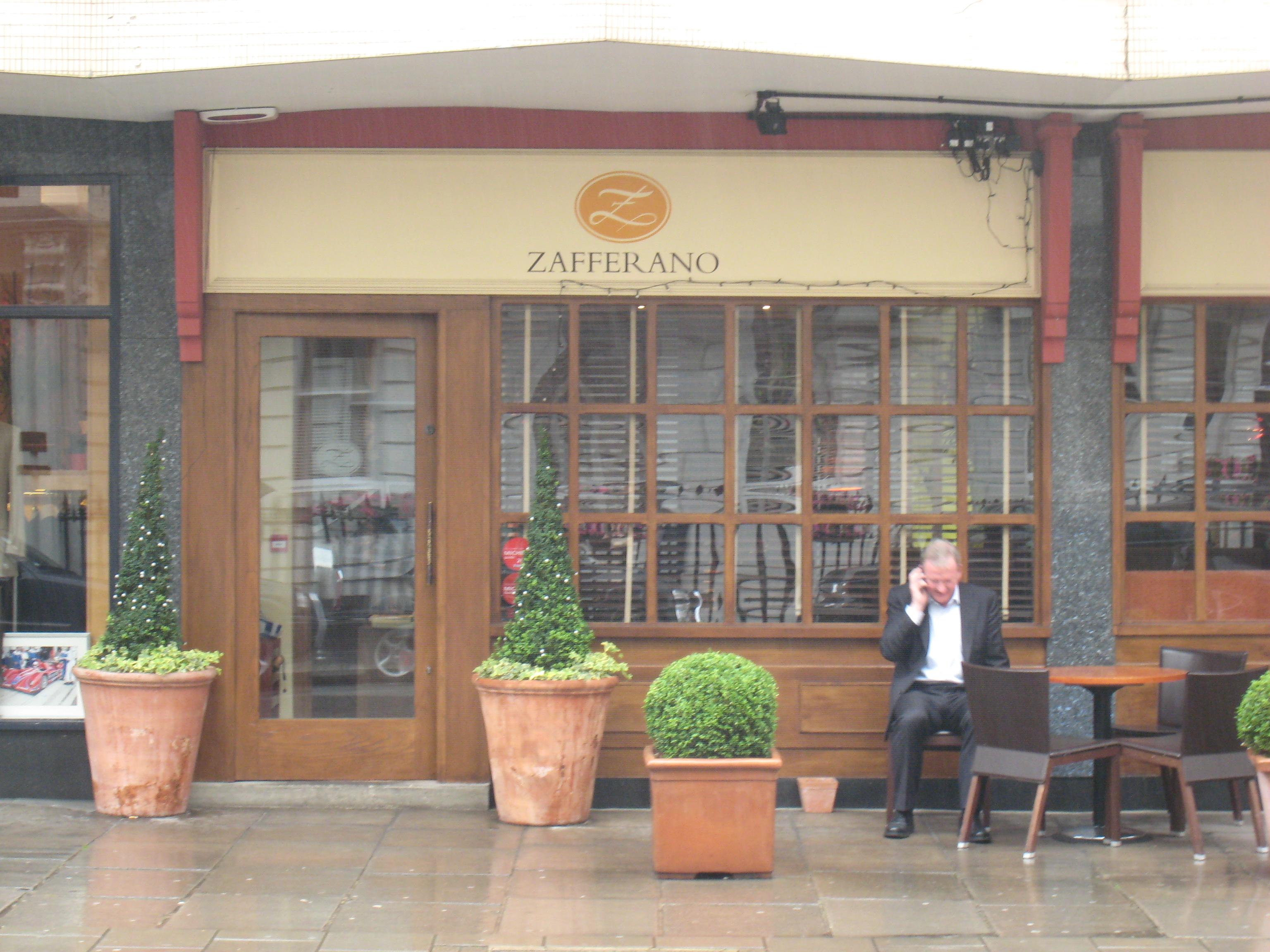 Zafferano London Food Snob