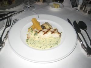 Darne de Turbot Grillée et Beurre Blanc à la Ciboulette