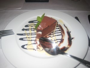 Tarte au Chocolat, Crème Anglaise