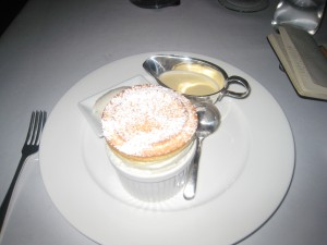 Lime & Cheese Soufflé