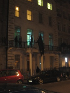 18 Upper Grosvenor Street - Squatters