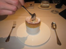 Date Soufflé with Burnt Orange and Almond Ice Cream 2