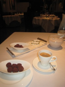 Café et Petit Fours - Salted Caramel Truffles; More Truffles and Nougat