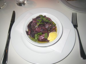Braised Cuttlefish and Aioli