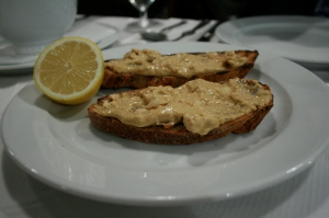 St. John - Brown Crab Meat on Toast