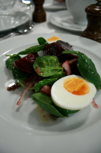 St. John - Beetroot, Boiled Egg & Anchovy