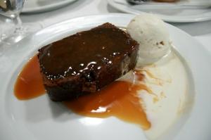 St. John - Gingerloaf & Butterscotch Sauce