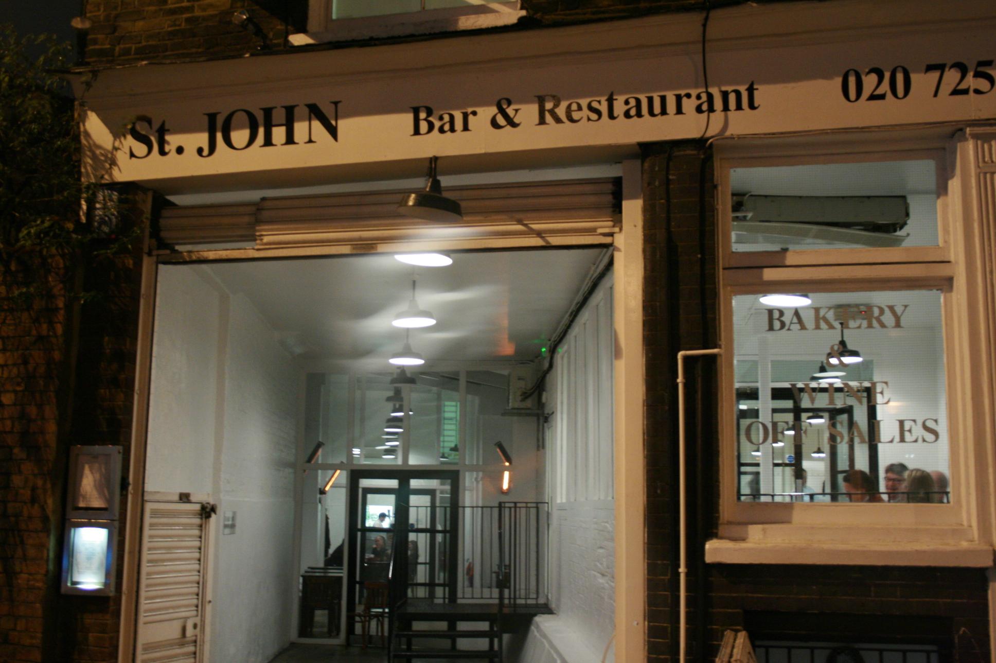 T John London The Second Return 90plus Restaurants The