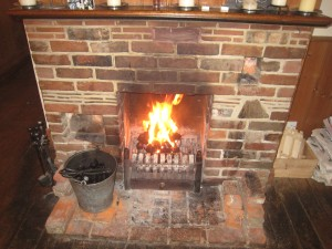 The Sportsman - Fireplace