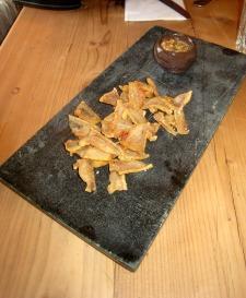 Canapés 2 - Pork Scratchings