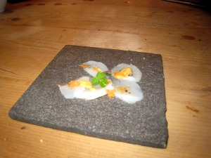 Scallop Carpaccio