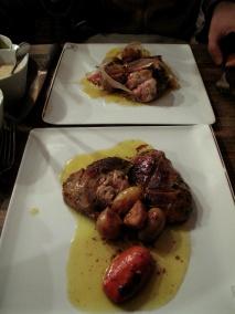 Chez l'Ami Jean - Foie gras de canard gras rôti entire, pour 2 pers, braisé 2