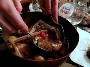 Chez l'Ami Jean - Foie gras de canard gras rôti entire, pour 2 pers, braisé