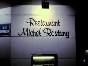 Michel Rostang - l'Enseigne