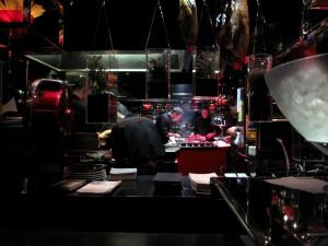 l'Atelier de Joël Robuchon - la Cuisine
