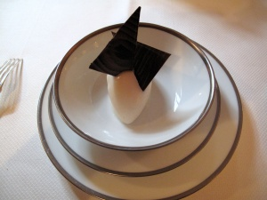 l'Ambroisie - Pre dessert: Sorbet poire William