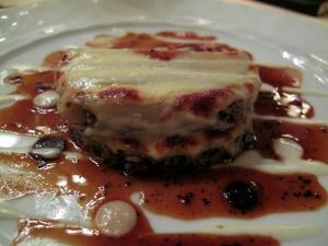 Lasserre - Macaroni aux truffes noires et foie gras de canard