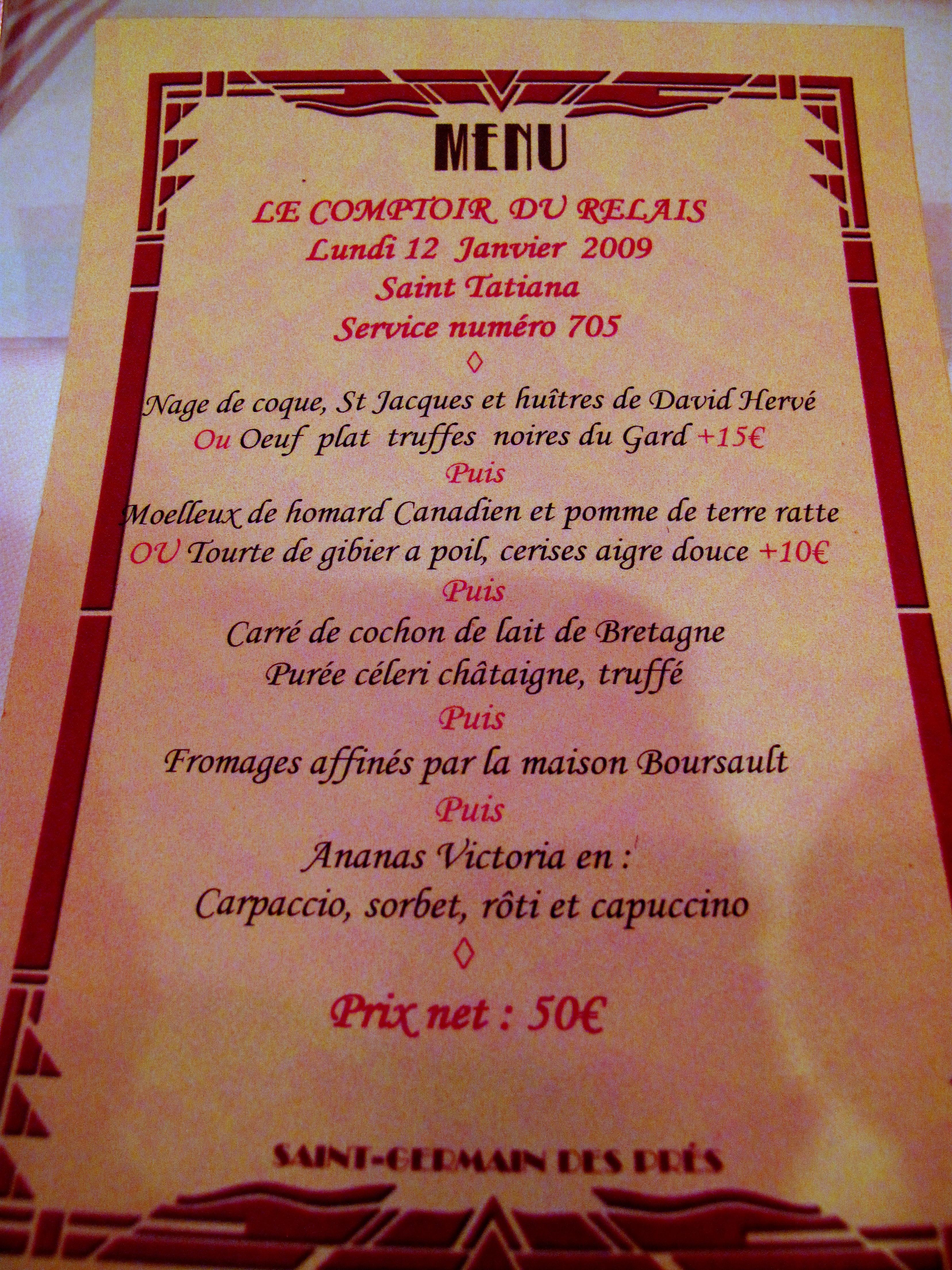 Restaurant Le Comptoir Bordeaux