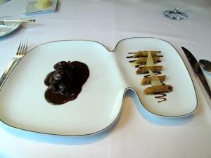 Le Pré Catelan - le Chevreuil: A la façon du « Senateur Couteaux », Pâtes au Beurre demi-sel