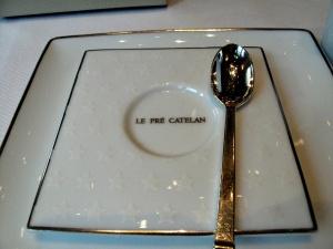 Le Pré Catelan - le Plat