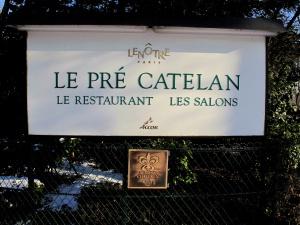 Le Pré Catelan - l'Enseigne
