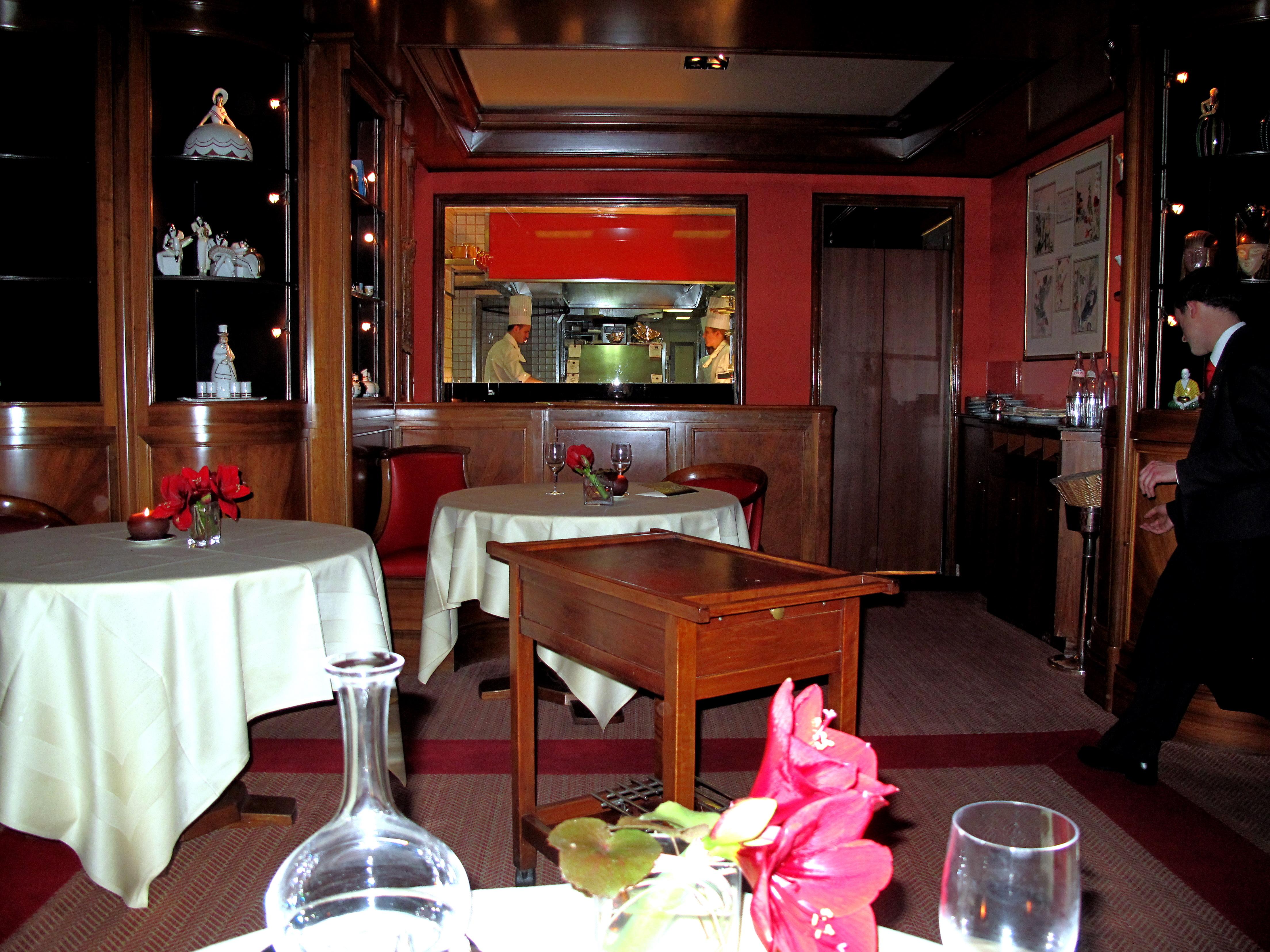 Michel rostang paris food snob for Restaurant michel rostang