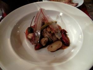 Chez l'Ami Jean - Cervelle de veau, cacahuètes, pomme de terre, vinaigrées