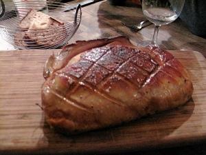Chez l'Ami Jean - Foie gras de canard gras rôti entire