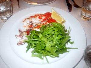 The River Cafe - Calamari ai Ferri