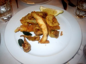 The River Cafe - Fritto Misto