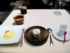 l'Astrance - les Desserts