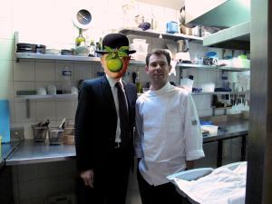 l'Astrance - Pascal Barbot et moi