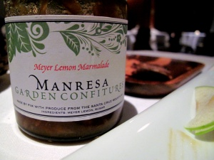 Manresa - Cheese - Our cheeses, refined and perfectly matured - Pim's Meyer Lemon Confiture