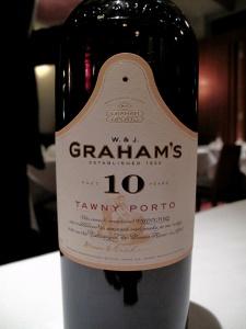Manresa - Dessert Wine - Graham's Tawny Port aged 10 years