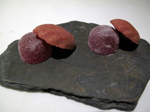 "Manresa - Petit Fours - ""Strawberry-chocolate"""