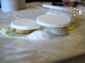 Oud Sluis - Blanc pur, riz, coco et cheese-cake, mangue épicée 2