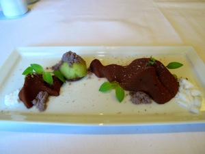 Oud Sluis - 'Chocolate Rocks', galangal, menthe et citron vert