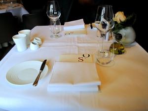 Oud Sluis - la Table
