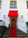 Schloss Berg - der Eingang