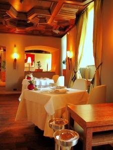 Schloss Berg - der Speisesaal