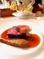 Schloss Berg - Golden Label-Beef 'Japan-Style'; vom Holzkohlegrill - Auberginencrème 2