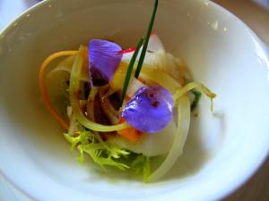 Schloss Berg - japanisches Gemüse