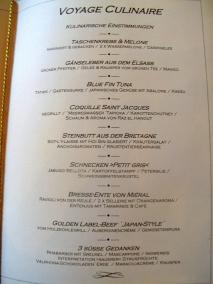 Schloss Berg - Voyage Culinaire