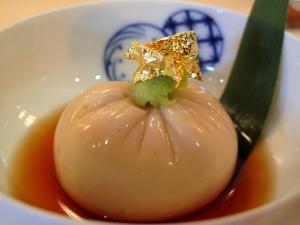 Urasawa - Goma tofu; Kyoto style 2