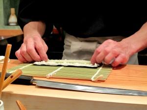 Urasawa - Hotate-toro maki - assembly